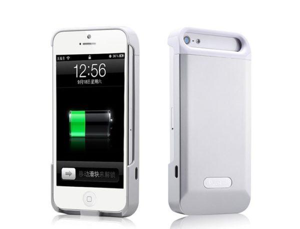 coque rechargable iphone 5
