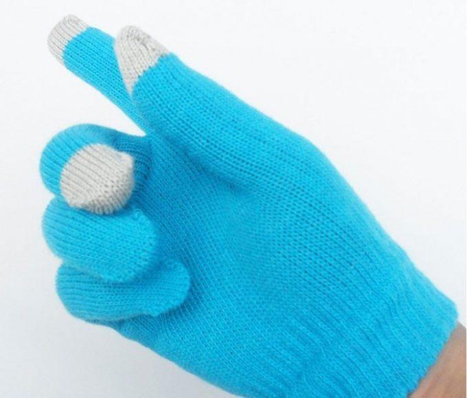 Gants tactiles pour écran portable