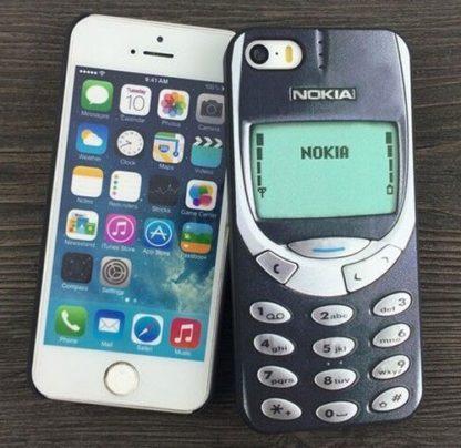 Coque iPhone 6 Plus vintage Nokia 3310