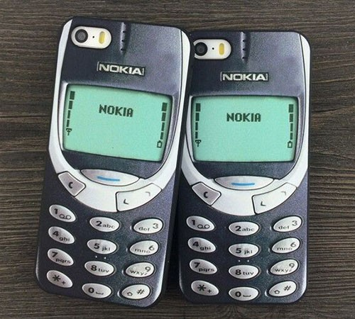 Coque iPhone 6/6s rétro Nokia 3310