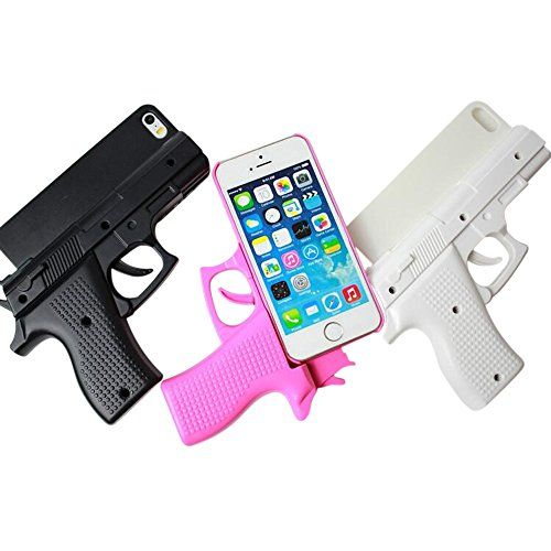 coque pistolet iphone 6s plus blanche