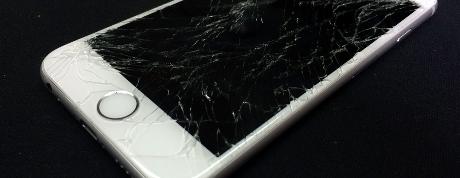 écran iphone 5c brisé