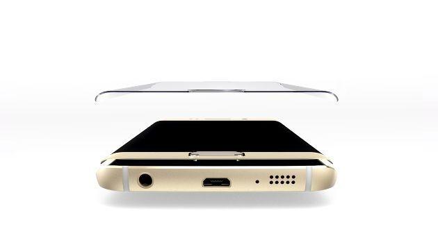 Film de protection Samsung S6 Edge en verre trempé