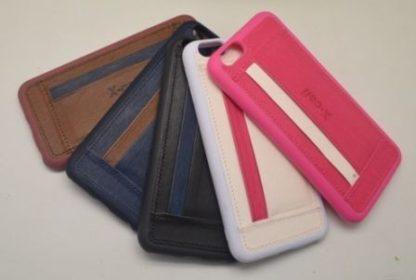 Coque porte-carte en jean iPhone 6 et iPhone 6s