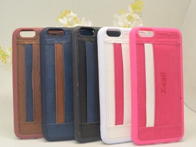 Coque porte-carte en jean iPhone 6 et iPhone 6s