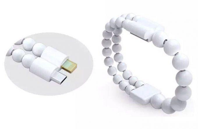 Bracelet chargeur pour iOS et Android