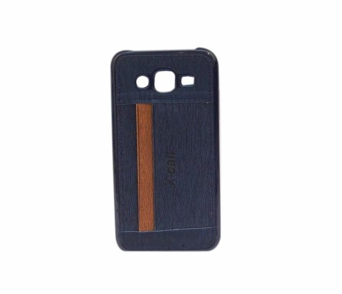Coque Porte Carte IPhone 5 Et IPhone 5s matière jeans