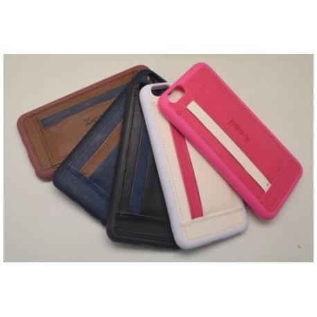 Coque Porte-Carte iPhone 6 plus / iPhone 6s Plus en TPU Jeans