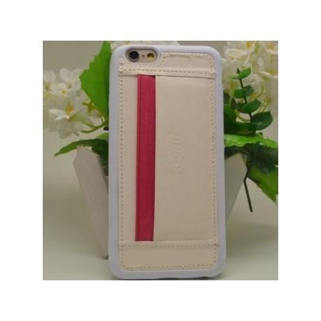 Coque Porte Carte iPhone 6 plus / iPhone 6s Plus en TPU Jeans