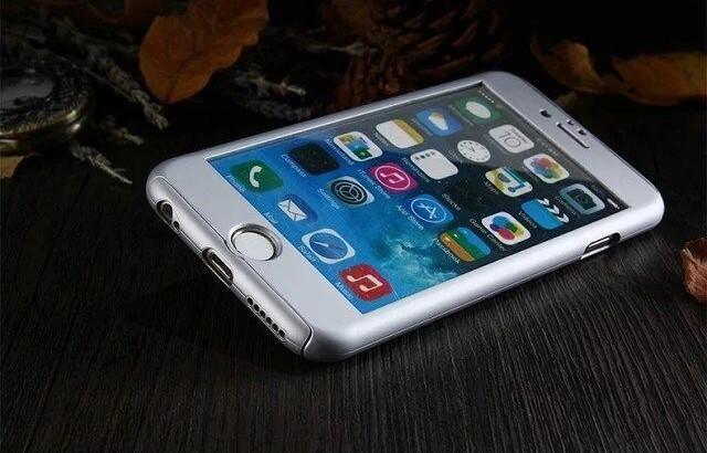 Coque Intégrale iPhone 5/5S + Film En Verre Trempé