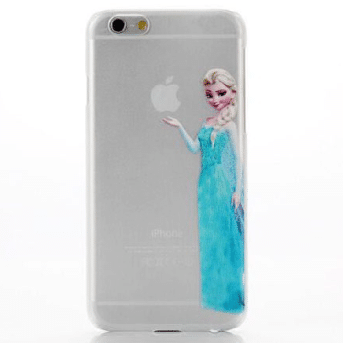 coque iphone 6 transparent elsa reine des neiges
