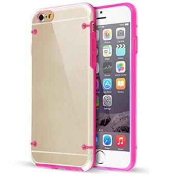coque transparente iphone 6 rose