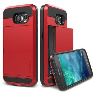 Coque Damda Slide Samsung Galaxy S7 noir et rouge