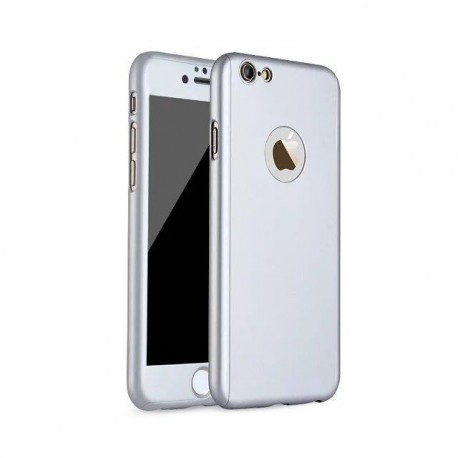 Coque Intégrale iPhone 7 et iPhone 8 + Film En Verre Trempé
