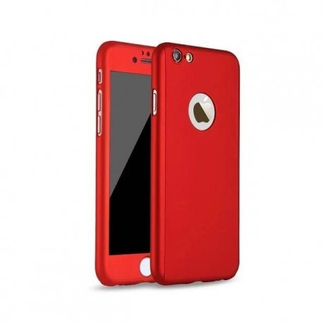 Coque Intégrale 360 iPhone 7 Plus et iPhone 8 plus + Film En Verre Trempé