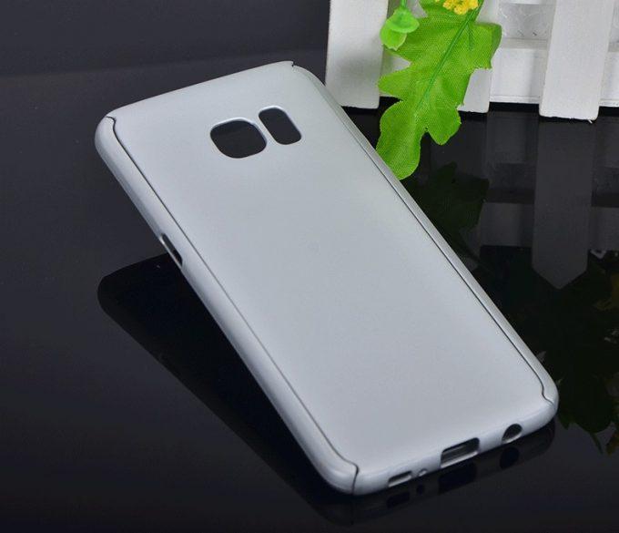 Coque Intégrale 360 Full Galaxy S7 + Film En Verre Trempé