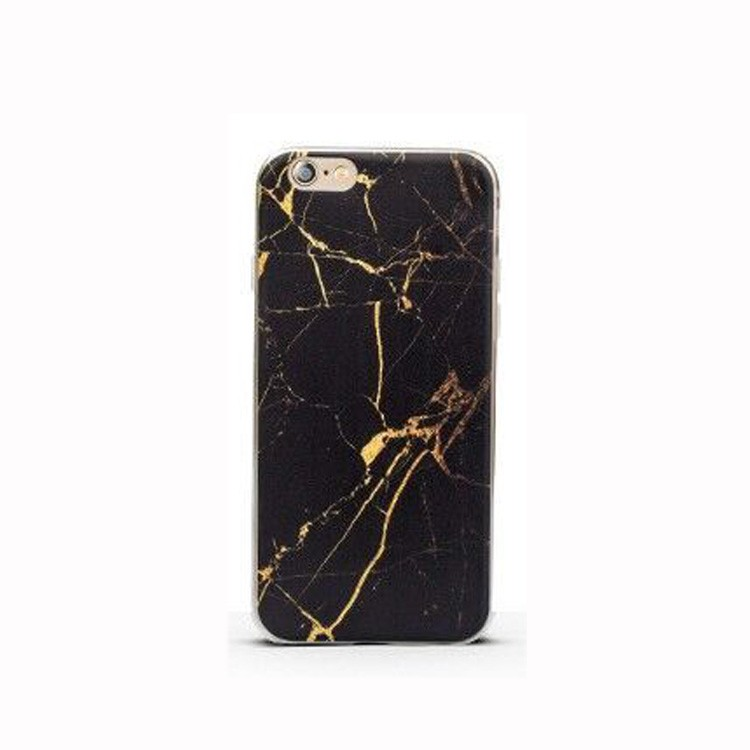 coque marbre noir iphone 7 plus