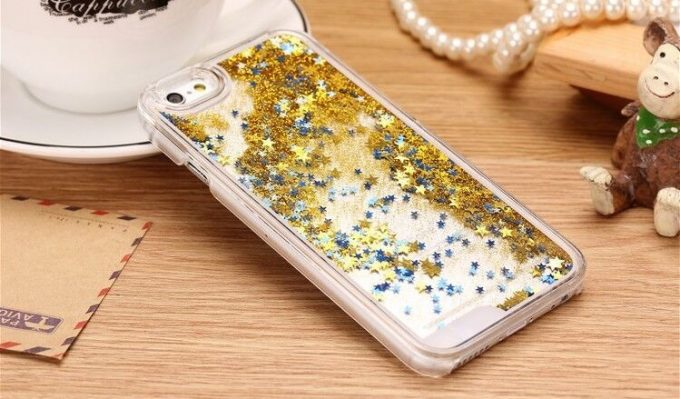 Coque paillettes et strass IPhone 5/5s