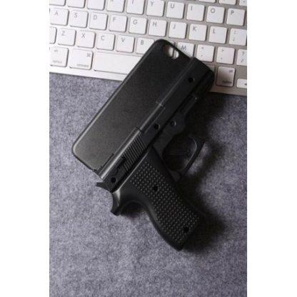 Coque revolver pistolet flingue gun iPhone 7