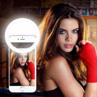 Anneau de lumière Selfie Ring RK-14 (iOS et Android)
