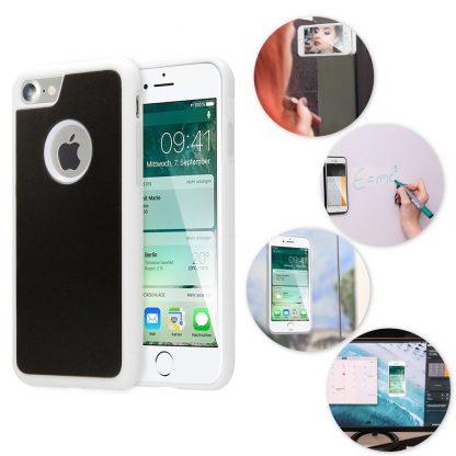 coque anti gravity iphone 8s blanche