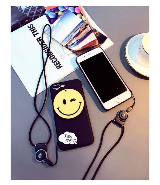 Coque Smiley Kiss Me IPhone 7plus et iPhone 8 plus