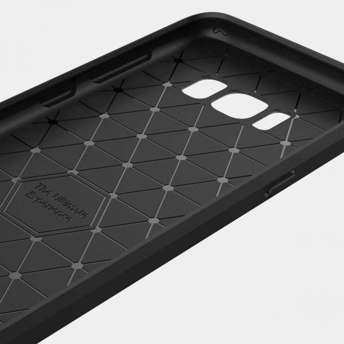 Coque Carbone Galaxy S8 Plus