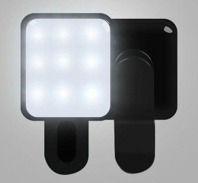 Carré de lumière Selfie Flash RK-10 (iOS et Android)