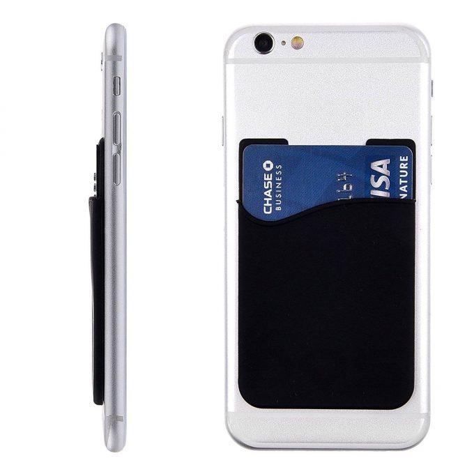 Porte-carte silicone iOS/Android