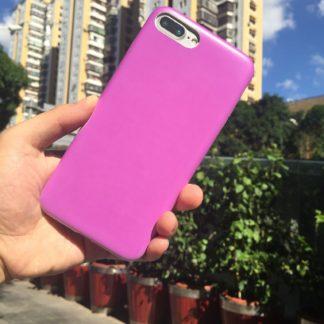 Coque photosensible IPhone 6/6s change de couleur à la lumière