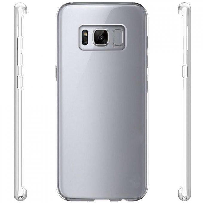 Coque 360 transparente Samsung S8