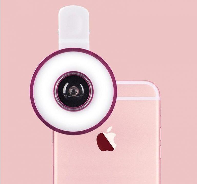 ring light led RK-MX-601 (iOS et Android)