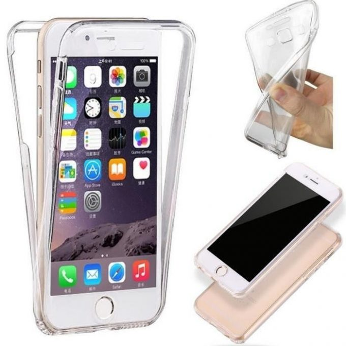 Coque Silicone Gel Intégrale iPhone 5, 5s, 5SE