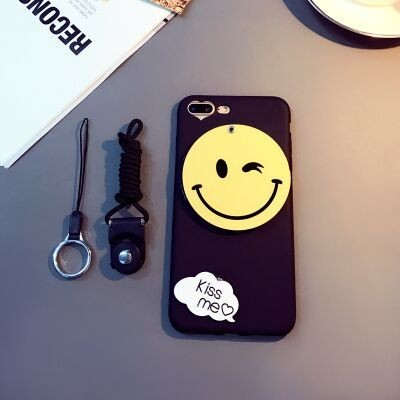 coque iphone 6 silicone smiley