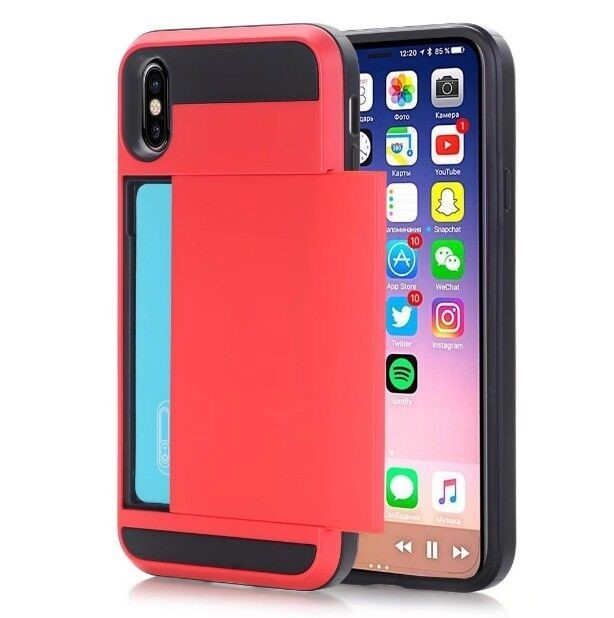 Coque Porte Carte Damda Slide IPhone X