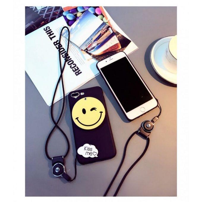 coque iphone 7 et iPhone 8 emoji