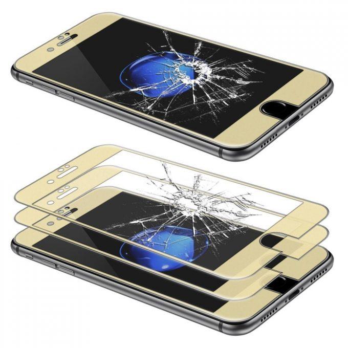 Film Iphone 7 et iPhone 8 en Verre Trempé incurvé