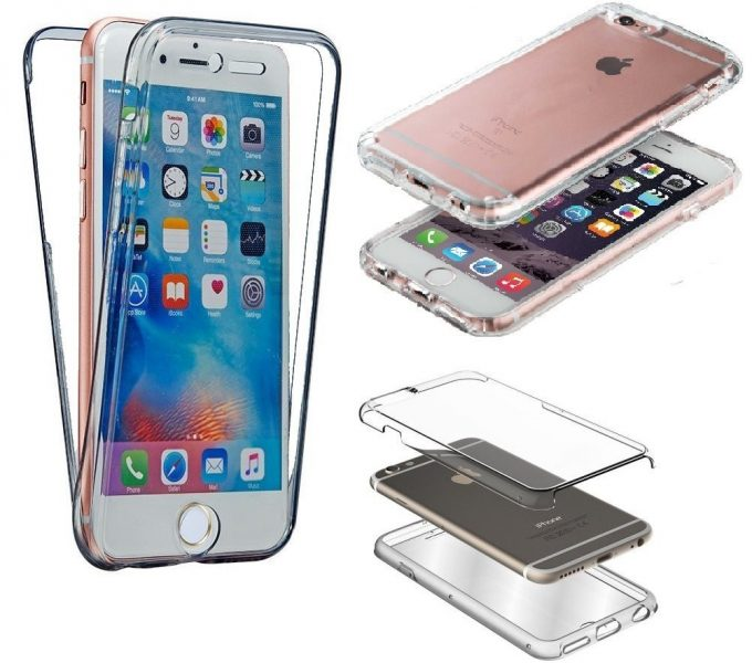 Coque Iphone 6 plus / 6s plus Silicone Gel Intégrale