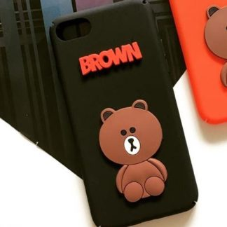 Coque Brown iPhone 6 Plus