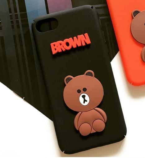 Coque Brown iPhone 6 Plus