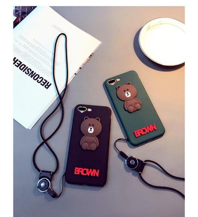 Coque Brown iPhone 7 et iPhone 8