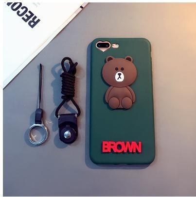 Coque Brown iPhone 7 Plus et iPhone 8 plus