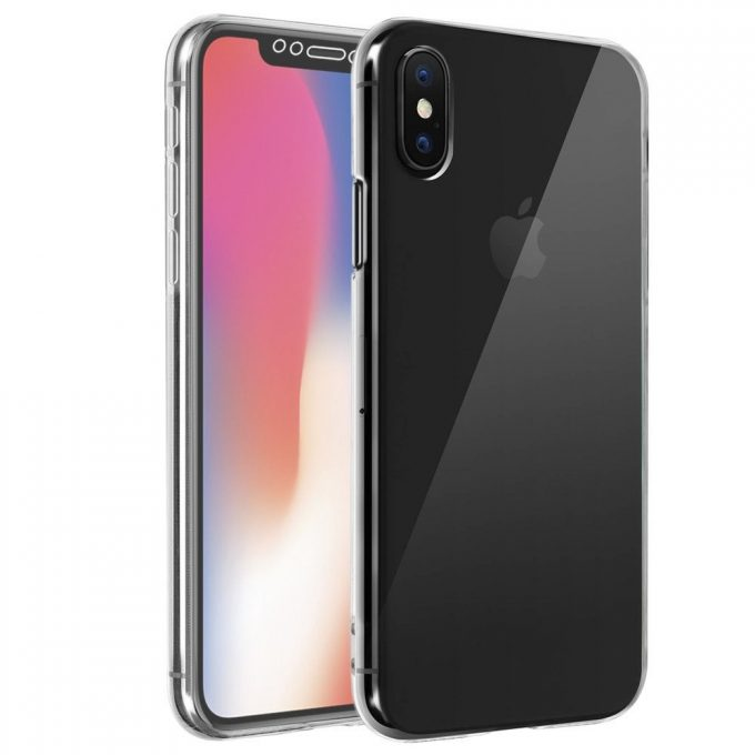Coque Iphone X Silicone Gel Intégrale