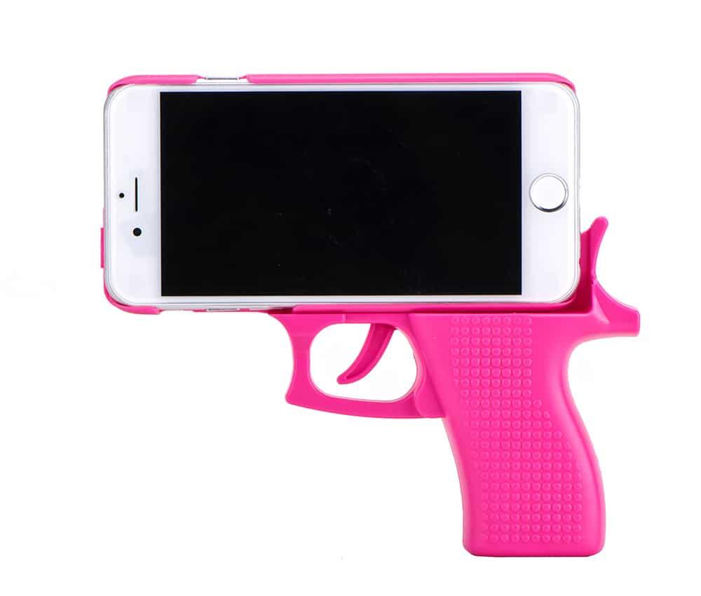 coque iphone xr pistolet
