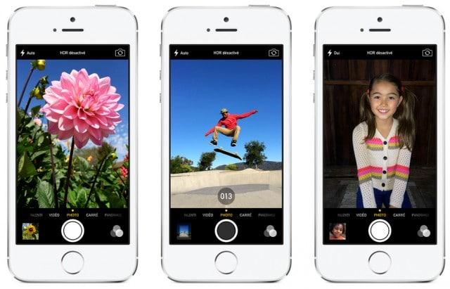 Comparatif iphone 5c & iphone 5s