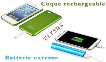 coque batterie vs batterie de secours