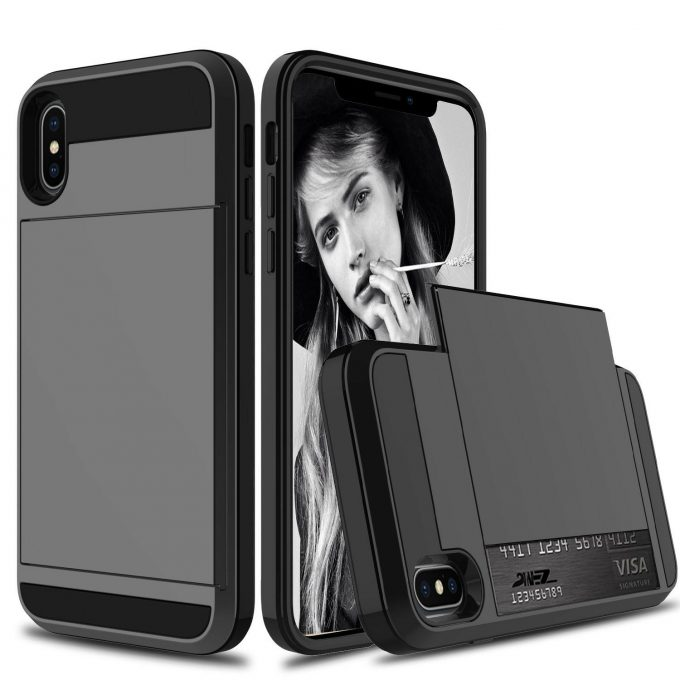 Coque Porte Carte Damda Slide iPhone Xs Max