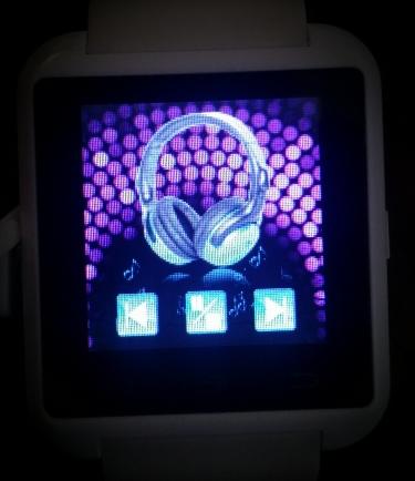 déclencher la musique depuis le smartwatch U8
