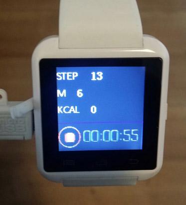 podometre smartwatch u8