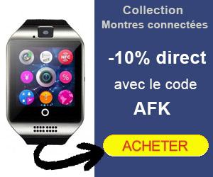 10% de réduction sur les montres connectées